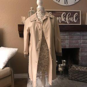 Jackets & Blazers - Luxury trench coat jacket sz M